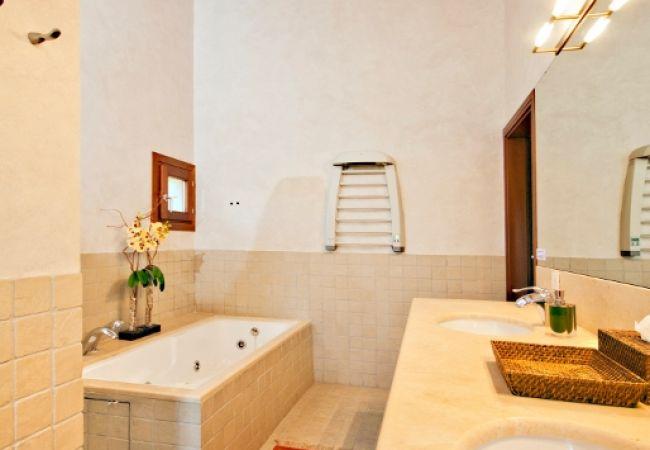 Bañera de baño principal