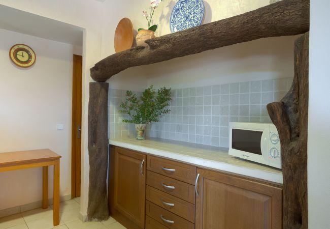 Cocina y espacio para cocina