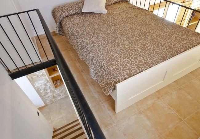 Schlafmöglichkeiten für 2 Doppelbett
