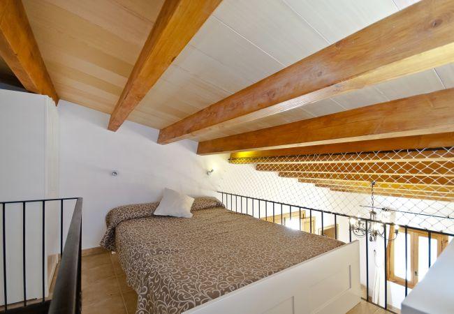 Hauptschlafzimmer im Dachboden