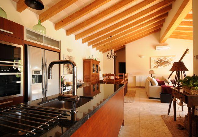 Küche offen zum Wohnzimmer