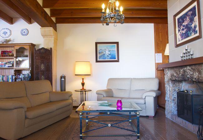 Sofas im Wohnzimmer