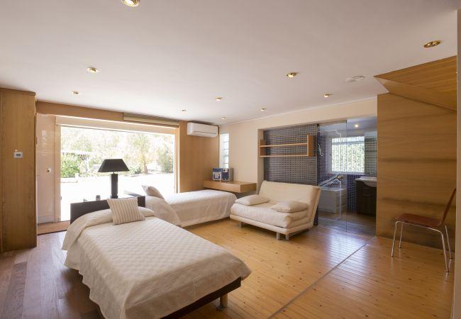 Zimmer für 2 Personen mit Zugang nach draußen und eigenem Bad