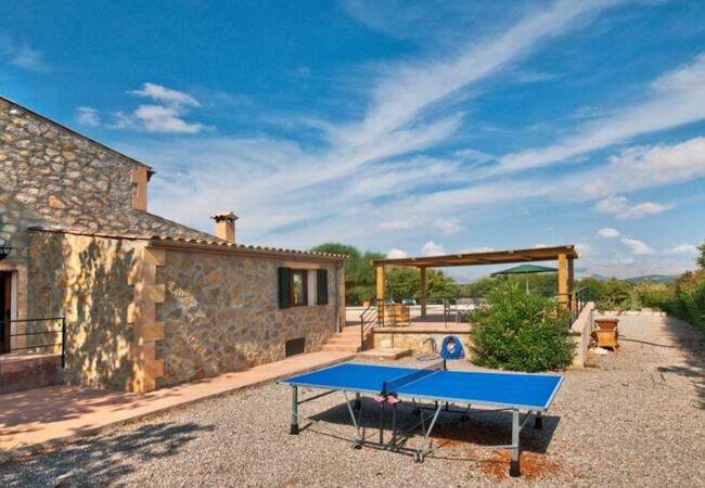 Ping pong at Villa Oscols