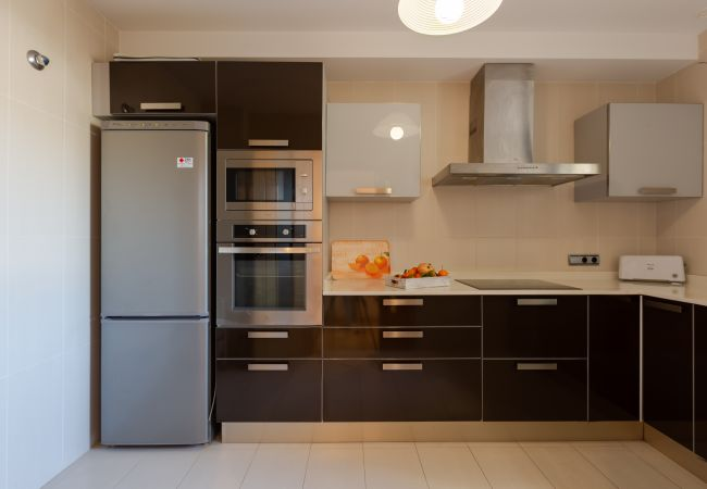 Kitchen equipped in Duplex La Nau B in Puerto Pollensa