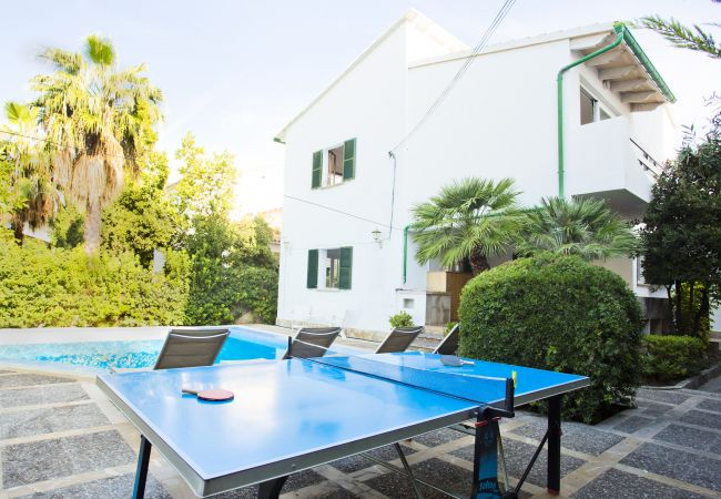 Ping pong table and private pool