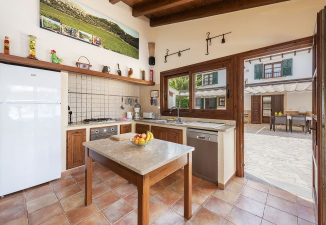 Country house in Pollensa / Pollença - Finca Morell Vell