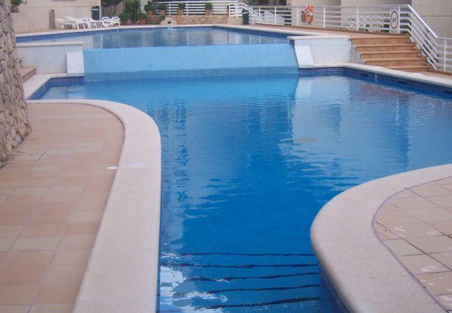 Community pool in Gotmar urbanization
