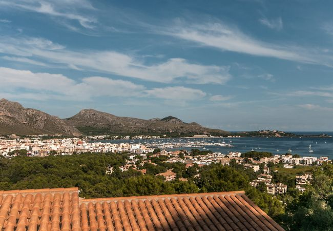 Incredible views of the mountains and the sea of Puerto Pollensa